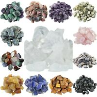 1lb Irregular Raw Rough Assorted Stones Tumbling Cabbing Crushed Crystal Decor