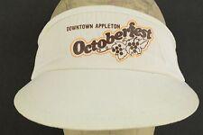 Downtown Appleton Octoberfest vintage visor hat cap adjustable