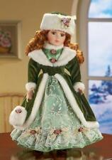 "Winter Kate Collectible Porcelain Doll w/ Certificate of Authenticity 16""H"