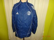 FC Schalke 04 Original Adidas Winter Outdoor Daunen Stadion Jacke Gr.M TOP