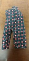 Vintage Authentic 1957 Vogue Ideal JILL Ginny Doll Red Black Poppy Flower Pants