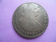 Mexico 1791 8 Reales..Nice.