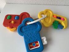 Schlüsselbund von Fisher Price für Babys und Kleinkinder - Lernspass
