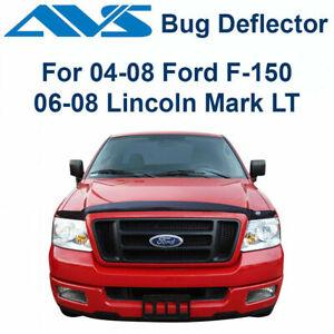 AVS 21718 Hoodflector Bug Deflector-Smoke 2004-2008 Ford F-150 Lincoln Mark LT
