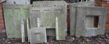 Coal Bunker, re-enforced concrete. Dismantled.