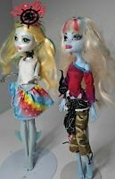 Monster High Roller Maze Abbey Bominable Laguna Blue Shriekwrecked Doll
