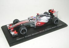 McLaren Mercedes MP4-27 N° 3 J.Button Gangant GP Belgique