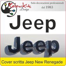 Cover adesiva per scritta Jeep Renegade dal 2014 - By Colorkit 001363