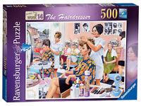14780 Ravensburger Jigsaw Puzzle Happy Days at Work Hairdresser 500 Pcs Age 10+