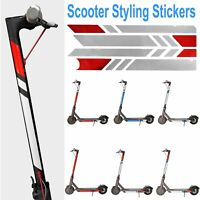 PVC Scooter Styling Stickers Reflective Decoration Decal For Xiaomi Mijia M365