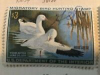 5 Migratory Bird Hunting Stamps 1960's and 70's