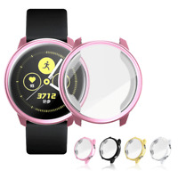 Electroplate TPU Case Coverage Clear Screen Protector For Samsung Active Watch