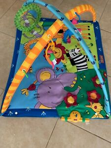 TINY LOVE Lights & Music Gymini Activity Gym Super Deluxe Animal Safari Play mat