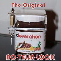 Original NUTELLASCHLOSS Schloss für Nutella-Glas Nutella-Lock Sicherung Geschenk