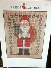 Prairie Schooler SANTA Counted Cross Stitch Patterns-YOU CHOOSE!