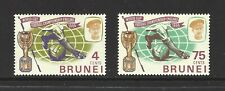 BRUNEI,  # 124-125,  MNH,  WORLD SOCCER CUP CHAMPIONSHIP,  Complete Set of 2