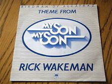 """Rick Wakeman-Birdman de Alcatraz 7"""" Vinilo Promo PS"""