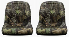 John Deere Gator Pair (2) Camo Seats Fit E-Gator  TH 6X4 TE and Trail Series
