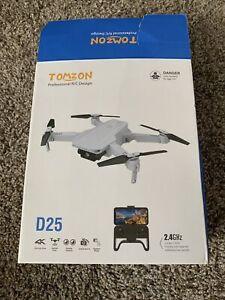 Tomzon D25 Drone 4K HD Camera WiFi FPV Foldable Quadcopter Selfie Drones