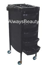 Black 6 Tier Trolley  Hairdressing Salon Furniture Assie Sale