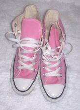 """FALL SALE GIRLS """"PINK & WHITE"""" CONVERSE ALL STAR SNEAKERS/ SHOES Size 4 LACE UP"""