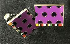 Paul Smith DOT with multi stripe tab cufflinks