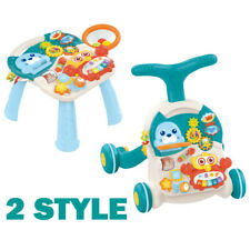 New listing Baby Toddler Toy Musical Learning Table Music Activity: Crib Stroller Car Walker