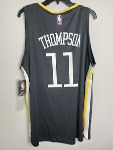Klay Thompson The Town Grey NBA Fanatics FastBreak Golden State Jersey Sz XL