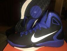 Nike 407627-100 Hyperdunk 2010 TB Black/Blue Men's Basketball Shoes 17.5, 18