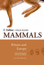 Mammals of Britain & Europe (Collins Field Guide)-ExLibrary