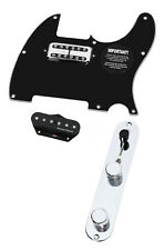Fender Telecaster Tele Loaded Pickguard TV Jones Duncan Vintage Stack T3W BK