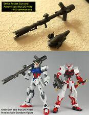 MGS Strike Rocket Gun and Astray Scout BuCUE Head set for Bandai MG 1/100 Gundam
