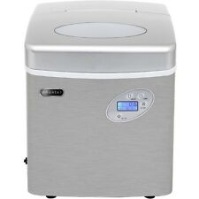 Whynter - Portable Ice Maker 49 lb Capacity - Stainless Steel