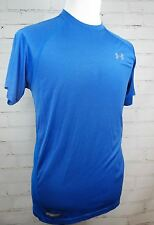 Under Armour Heatgear Flyweight Run Fitted Fitness Short Sleeve Shirt - Men's Xl