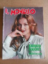 MONELLO n°10 1976 Barbara Bouchet Mauro Bellugi BEE GEES [G552]