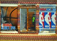 3 Pack Lot 90's NBA Unopened Packs Basketball Cards Possible Jordan PSA Shaq RC