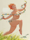 Vintage Pin Up Hilda 11 x 14