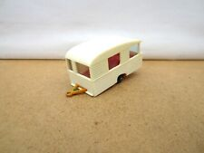 Majorette No.15 Sterckeman Lovely  Caravan  -  White / Orange