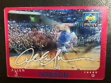 Allen Iverson 1997-98 Upper Deck Diamond Vision Signature #S20