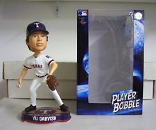 Yu Darvish Texas Rangers Logo Base Bobblehead MLB