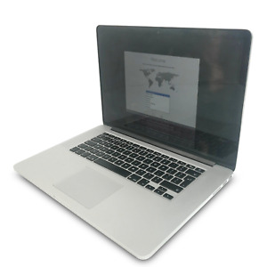 "Apple MacBook Pro A1398 Mid 15"" i7-4770HQ 16GB 256GB (Casing / Screen Damage)"