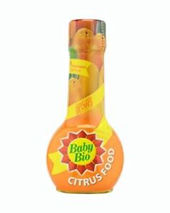 Baby Bio Citrus Plant Concentrated Food Feed Fertiliser 175ml