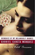 Memories of My Melancholy Whores, Gabriel Garcia Marquez, Good Condition, Book
