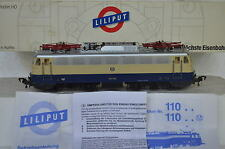 Liliput HO 110 232 E-Lok Rheingold BR  E10 1309 DB blau/beige (CD/344-69S9/5)
