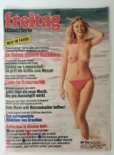 Erotik Magazin ★ freitag ★ 23 vom 26.5.1976 ~ Christine Schuberth / Liza Todd