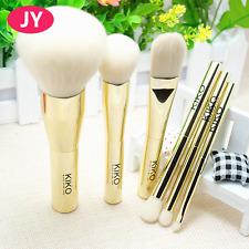 6pcs KiKo metal powder blush foundation high light eye shadow makeup brushes