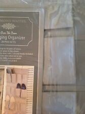 Raymond Waites Shoe Organizer Over The Door Khaki Tan 20 pocket nip