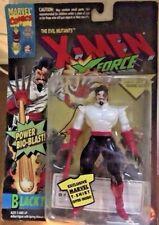 Marvel Comics X-Men Action Figures Lot of 4 Black Tom Domino La Lunatica Spiral