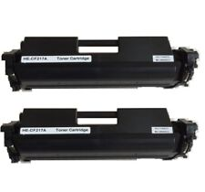 2PK CF217A 17A Black toner For HP M102a M102w M130a M130fn M130fw M130nw-No Chip