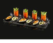 25 pièces en plastique partie plateau ensemble - - - Sushi dessert crème glacée Plastique Plateau de Coupe